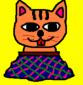 自画像用ネコ